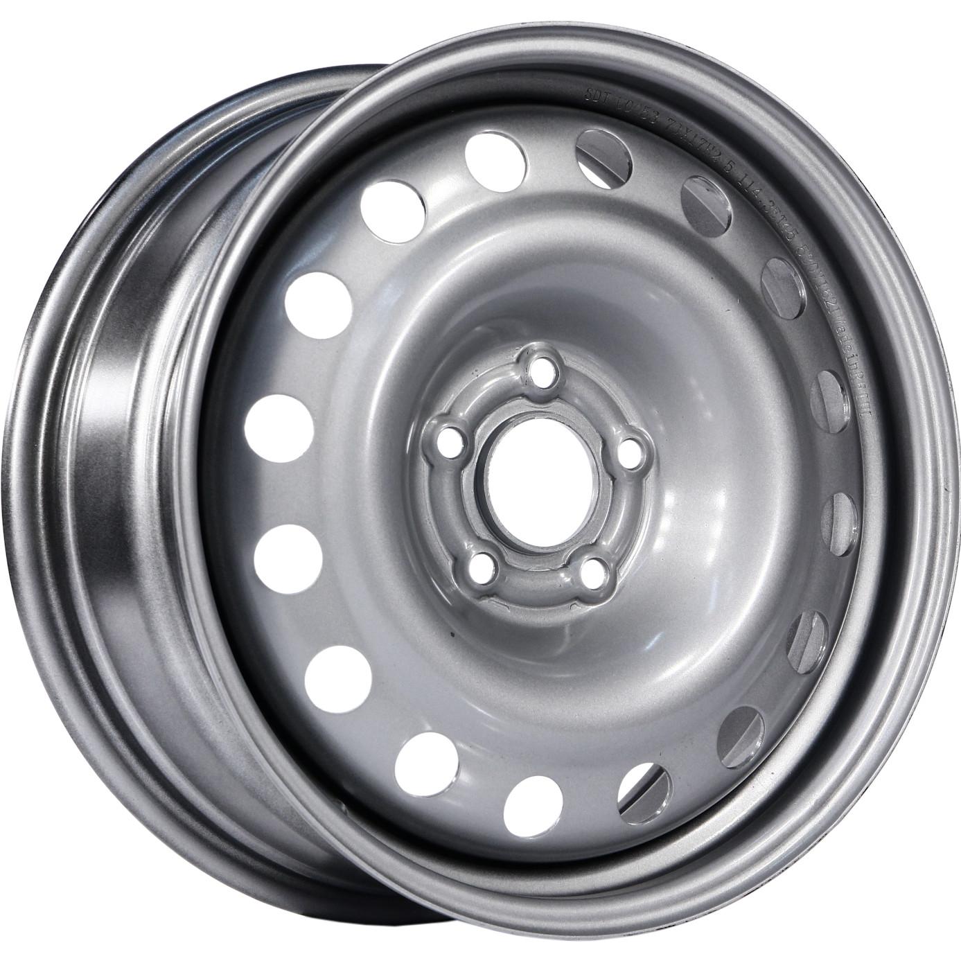SDT U0053 7x17/5x114.3 ET45 D66.1 Silver