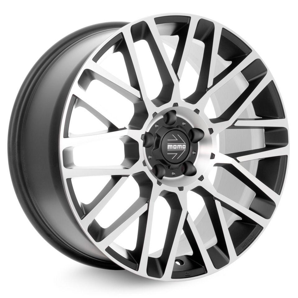 Литой диск MOMO SUV REVENGE Matt Black-Polished 9,0x20 5x120 ET40 DIA72,6