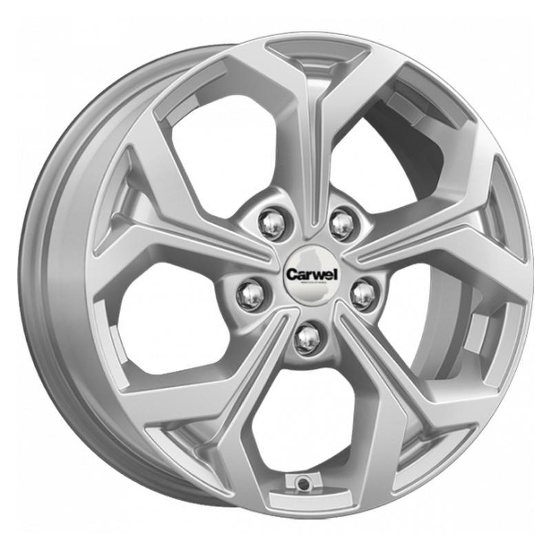 Литой диск Carwel Oron SL / Серебристый 7x16 5x139.7 ET35 DIA98